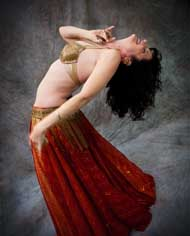 Belly dancing instruction, preformances by Annette